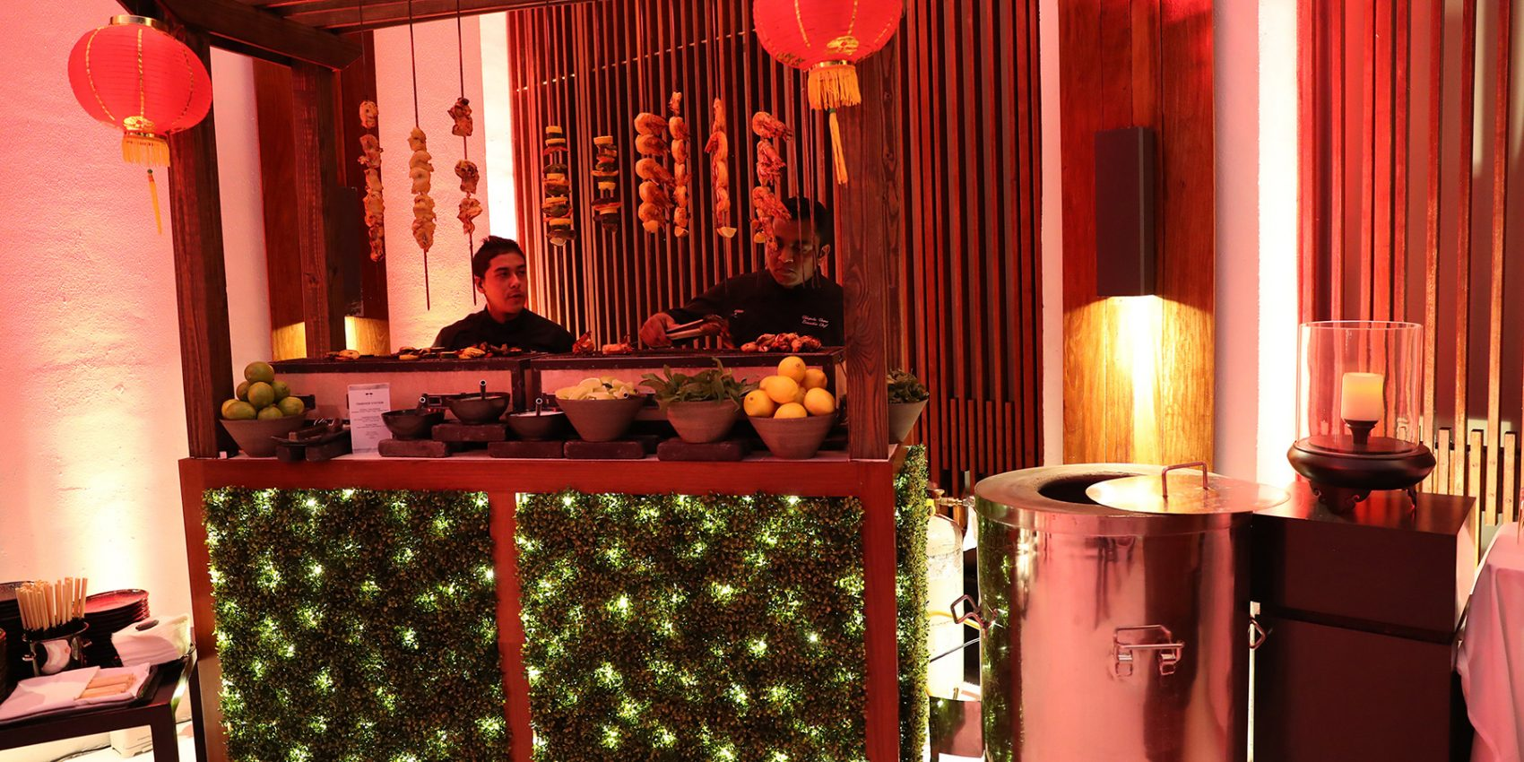 GULATI Catering Tandoor featured at The Setai Miami Beach's Asian Night Bazaar